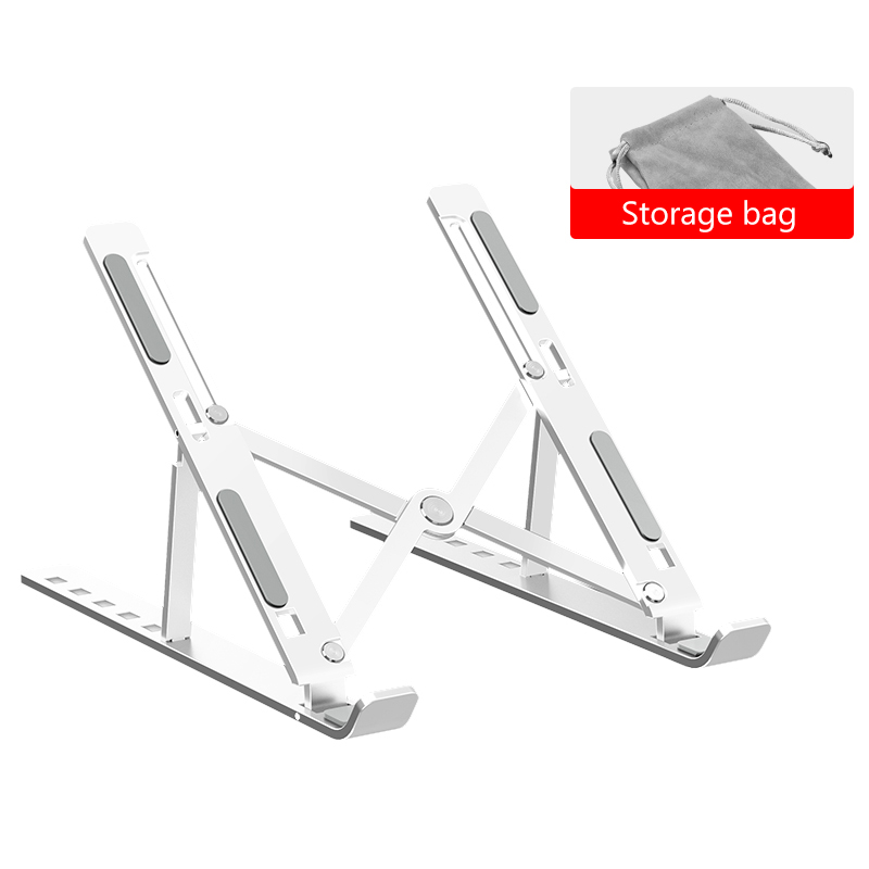 Portable Laptop Stand Adjustable Notebook Stand Holder For Macbook Pro 11 12 13 15 Non-slip Foldable Computer Cooling Bracket