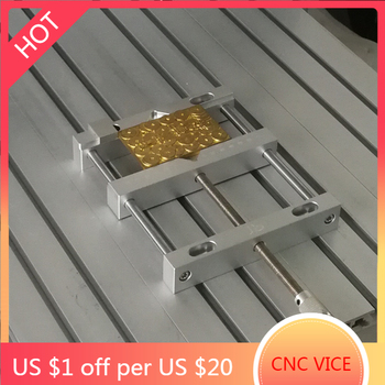 Parallel-jaw vice aluminium alloy flat tongs vice for cnc engraving milling machine bench drill vise fixture cnc milling machine tool bench clamp jaw mini table vice plain vice parallel jaw vice ly6258