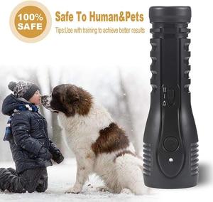 Image 3 - Benepaw Rechargeable Ultrasonic Dog Repellent LED Flashlight Handheld Anti Barking Device Safe Pet Training Aid Good Behavior