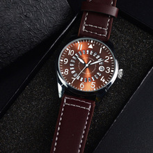2019 New Fashion Quartz Watches Men Simple Casual Army Leather Sports Wrist Watch Alloy Case Military Date Analog Quartz Watch men watch women reloj mujer horloges mannen military leather waterproof date quartz analog army men s quartz wrist watches 4