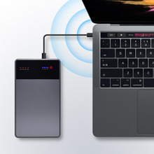 40000mAh Notebook Power Bank 3.5A 19V DC 2 USB External Batt