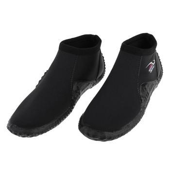 Odporne na poślizg kobiety mężczyźni buty do nurkowania sporty wodne buty guma neoprenowa podeszwa sporty wodne Snorkeling Surf kajakarstwo nurkowanie Boot tanie i dobre opinie Tooyful Rubber Sole Diving Boot