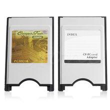 Compact Flash CF к адаптеру кард-ридер PC Card PCMCIA для ноутбука