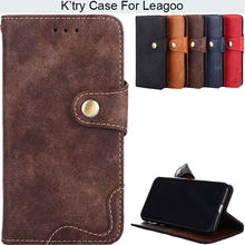 Nobel Style Pu Leather Phone Case For Leagoo M7 M9 T5 S8 S8pro(China)