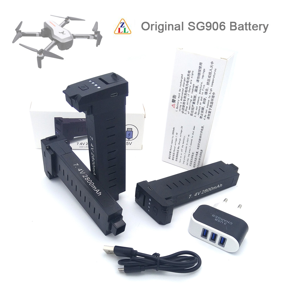 Original SG906 <font><b>Battery</b></font> <font><b>7.4V</b></font> <font><b>2800mah</b></font> LiPo <font><b>Battery</b></font> Spare Part Accessories For SG906 GPS 4K RC DRONE Parts image