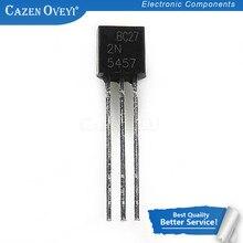 10 pçs/lote 2N5457 5457 2N5458 5458 A-92 JFET N-Canal Transistor da Finalidade Geral novo original Em Estoque