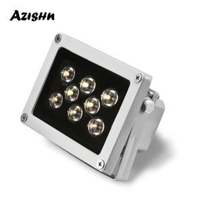 Image 1 - CCTV LED S, étanche, 8 pièces, rangée de Led Led, illuminateur à infrarouge, lampe à infrarouge pour lextérieur, Vision nocturne pour caméra IP