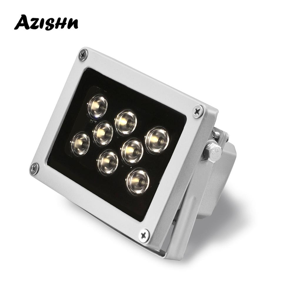 8 шт., инфракрасная Водонепроницаемая светодиодная лампа ночного видения для IP-камеры
