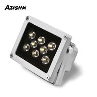 Luz Led de relleno CCTV para exteriores, iluminador infrarrojos, impermeable, visión nocturna, para cámara IP CCTV, 8 Uds.