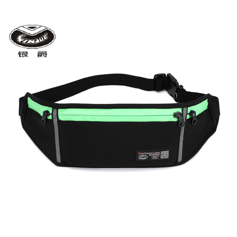 YINJUE Outdoor Waterproof Waist Bag Pocket Fanny Pack Belt Travel Wholesale Customization Chest Sports Running Phone Bags 0028
