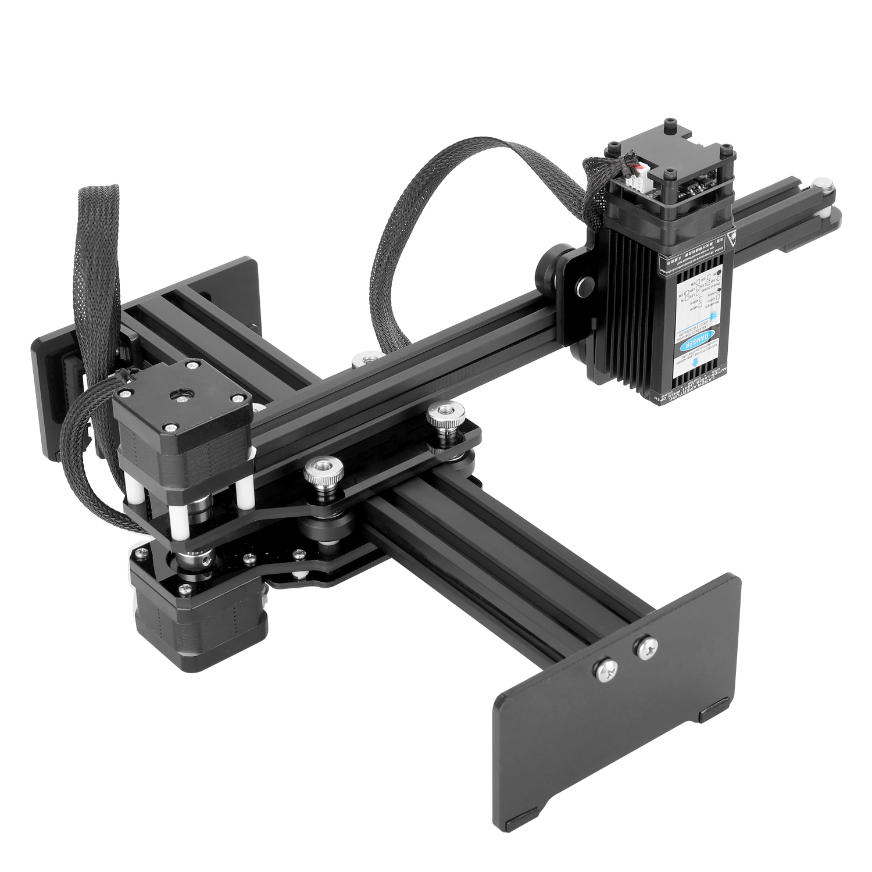 7W Small Laser Engraving Machine Desktop Single Arm Engraver Portable DIY Engraving Carving Machine Mini Carver With U Disk