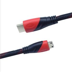Image 3 - 1080P 3D Tác Dụng Chuyển Mini HDMI Sang HDMI Tốc Độ Cao Adapter Với Đầu Cắm Mạ Vàng Cho Máy Ảnh Màn Hình Máy Chiếu máy Tính Xách Tay