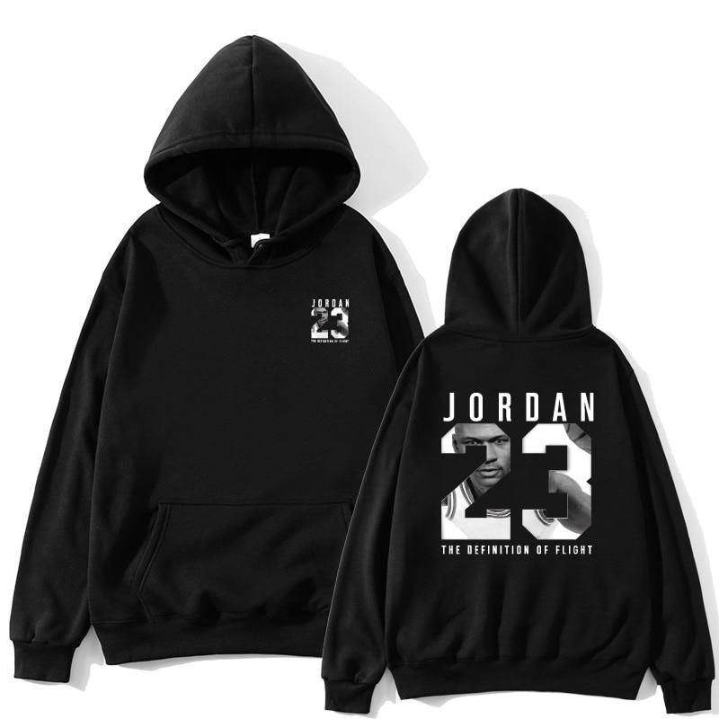 2019 Gloednieuwe Mode JORDA 23 Mannen Sportkleding Print Mannen Hoodies Trui Hip Hop Heren trainingspak Sweatshirts Kleding