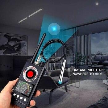 Anti Spy Wireless RF Signal Detector Bug GSM GPS Tracker Hidden Camera Eavesdropping Device Military Professional Version K68 3