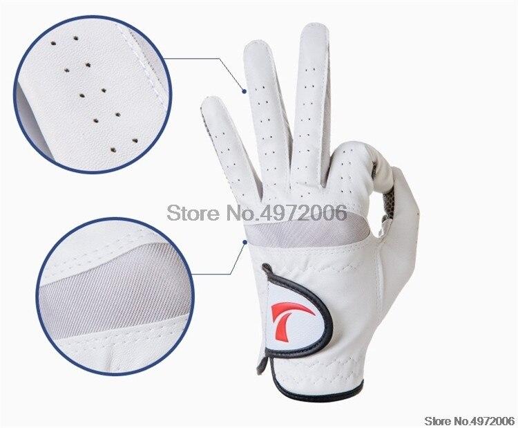 esportivas anti skid absorção suor golfe luva d0631