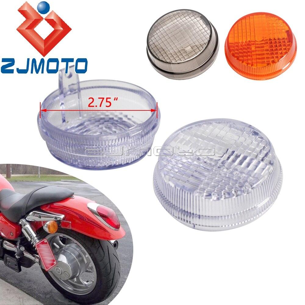 4X LED Turn Signal Indicators Light Red Cap For Yamaha Suzuki Kawasaki Honda TR