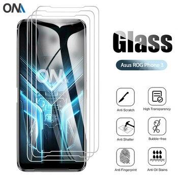 Перейти на Алиэкспресс и купить 3 шт закаленное стекло для Asus ROG Phone 3 Strix Защитное стекло для экрана для Asus ROG Phone 3 Strix Edition защитная пленка