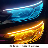 Ice Blue To Yellow