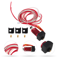 1 Set Extruder Head Kit Nozzle Hot End Kit Silicone Cover 3D Printer Accessories