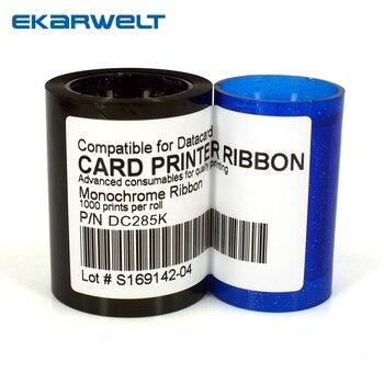 compatible 552954-501 / DC285K black Color Ribbon 1000prints/roll for datacard Sp25 sp30 sp35 sp55 sp75 cp40 cp60 cp80