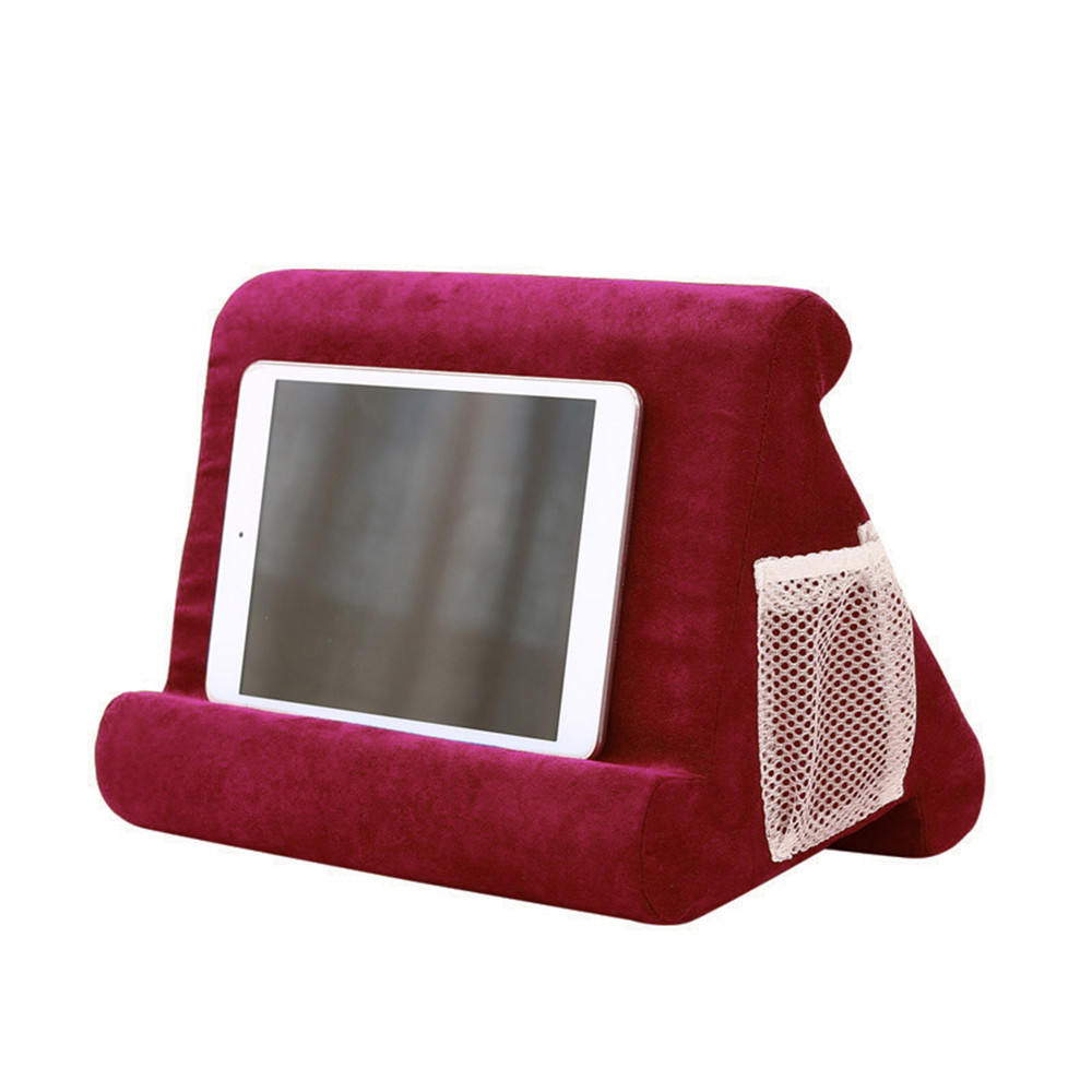 Tablet Stand Laptop Holder Pillow Foam Multifunction Laptop Cooling Pad Tablet Stand Holder Stand  Rest Cushion For Ipad