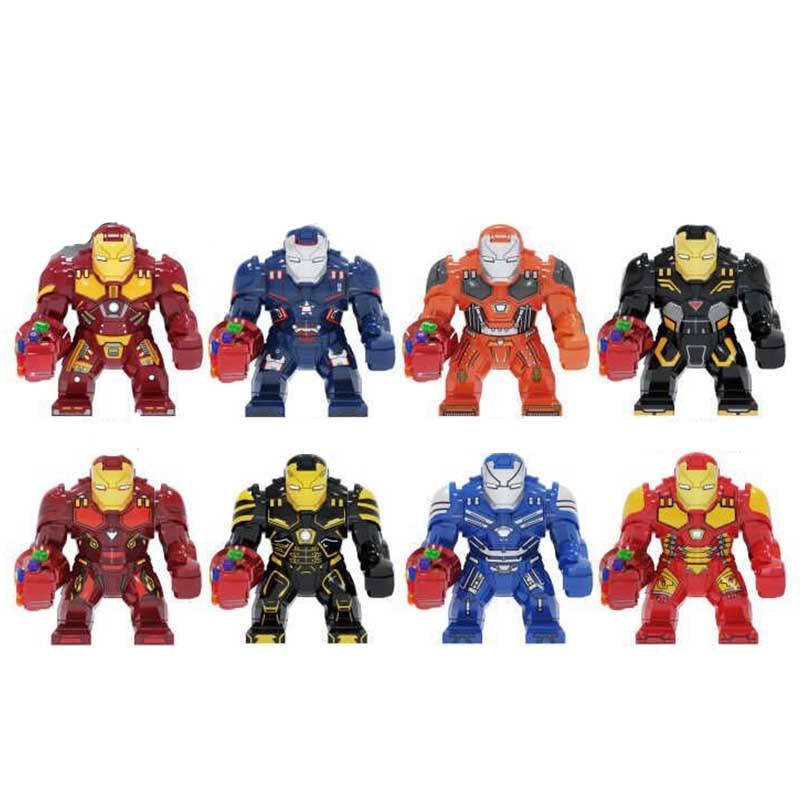 Avengers 4 Endgamer Action Figure Iron Man Blocks Compatible Marvel Toy