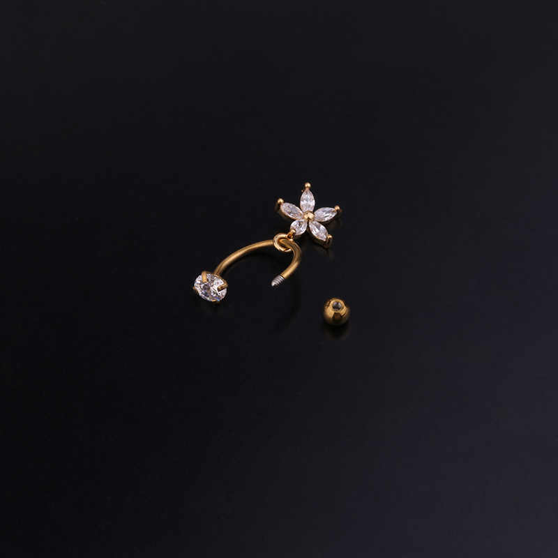 Sellsets 1pc 20gx 6/8 ミリメートルのステンレス鋼czキュービックジルコニア耳珠ヘリックスピアス軟骨フープルークピアスジュエリー