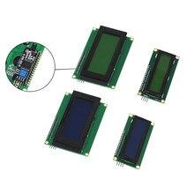 1 conjunto 2004 + tela lcd iic/i2c, 2004 20x4/1602, 16x2, personagem, display lcd módulo hd44780 controlador azul luz de fundo da tela