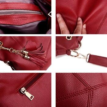 Lanzhixin Leather Shoulder Bag  4