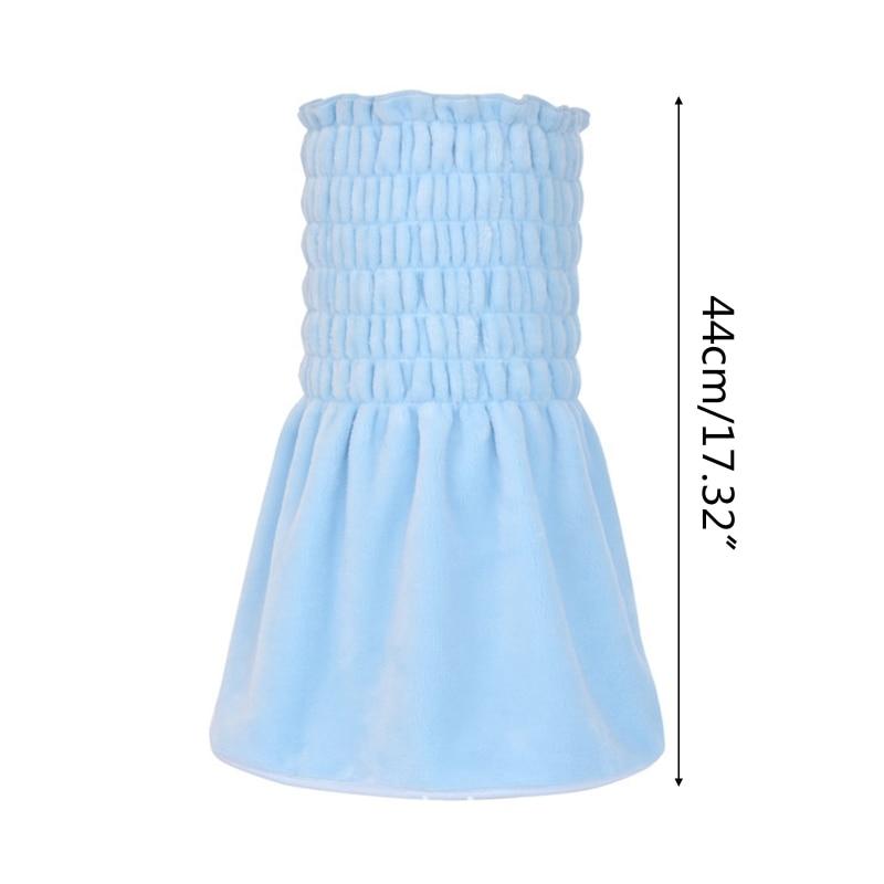 Фланелевая юбка в форме bellyband чехол на животик зимняя теплая