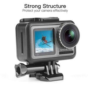 Image 2 - Защитный чехол SHOOT для экшн камеры DJI Osmo, чехол с рамкой для экшн камеры DJI Osmo, защитный кожух, аксессуар
