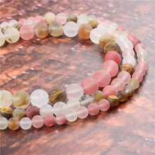 Wholesale Fashion Jewelry Frosted Watermelon 4/6/8/10 / 12mm Suitable For Making Jewelry DIY Bracelet Necklace