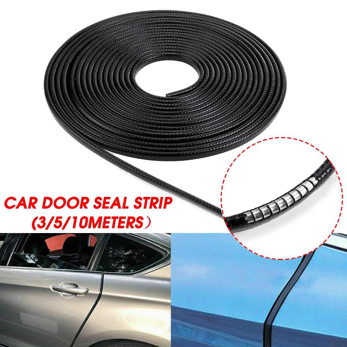10m Car Door Boot Edge Protector Strip Trim U Shapes Guard Seal Rubber Strip UK