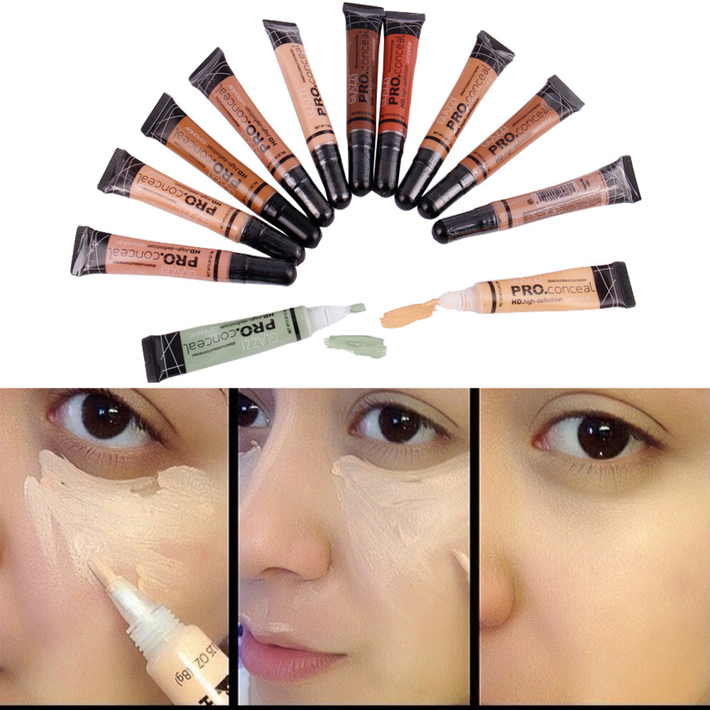 Palette Contour Kit Face Eye Concealer Liquid Foundation Base Cream Pro Eye Dark Circles Cream Face Corrector Waterproof Makeup image