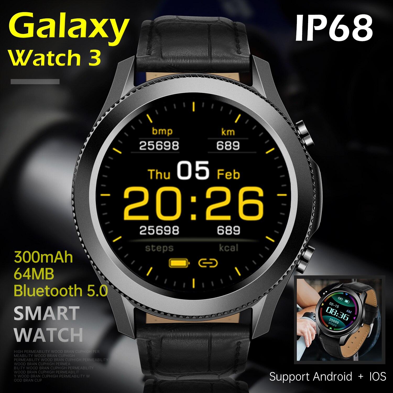 Новинка 2021, умные часы с полной сенсорной технологией Galaxy Watch 3, часы для бега с поддержкой мобильных телефонов SAMSUNG, HUAWEI, Apple, Xiaomi, Android и IOS