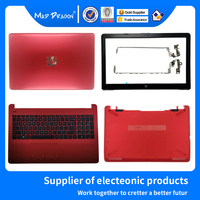 Nieuwe Lcd Back Cover/Front Bezel/Lcd Scharnieren/Palmrest/Bottom Case Rood Voor Hp 15-BS 15T-BS 15-BW 15Z-BW 250 G6 255 G6 L03441-001