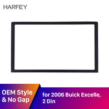 Harfey 173*98mm samochodowy odtwarzacz audio konsola rama 2Din odtwarzacz CD autoradio Panel interfejsu GPS dla Buick chevrolet aveo SUZUKI HOLDEN(China)