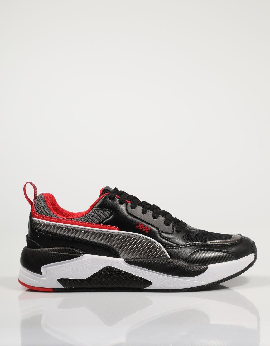 PUMA ZAPATILLAS FERRARI RACE X BLACK 30695301 Negro Polipiel Hombre – Black SNEAKERS Man Shoes Casual Fashion 76687
