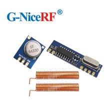 15 adet/grup ücretsiz kargo STX882 433MHz ASK verici modülü ve SRX887 alıcı modülü