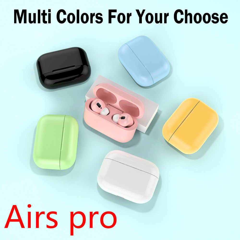 Macaron Air Pro 3 TWS In Ear Wireless Headphones For IPhone 11 Pro Max X Bluetooth Earphone With Microphone I100000 Tws Earbuds