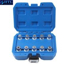 Spline Socket Voor Locking Wielmoeren Set Wiel Lug Moer Remover Geschikt Voor Bmw E66 E60 E90 X5 X3 530