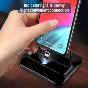Image 5 - 3 in 1 자기 전화 충전기 홀더 Apple Watch Dock airpod 용 무선 충전기 iPhon 충전 브래킷 용 스탠드 홀더