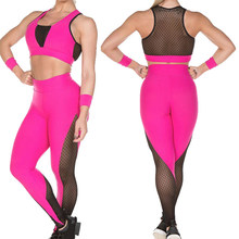 SIFT Fitness monos mujer malla Leggings Deporte Mujer Fitness Leggings gimnasio mujeres ejercicio ropa(China)