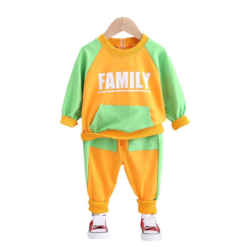Купить модная детская весенне осенняя хлопковая одежда для маленьких