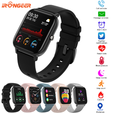 P8 Smart Watch Women Men IP67 Waterproof Fitness Tracker Sport Heart Rate Monitor Full Touch Smartwa