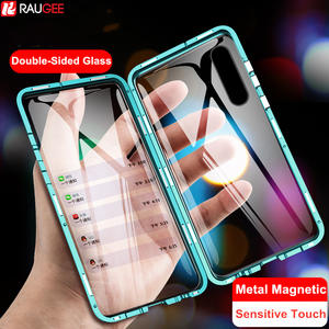 Magnetic-Case Tempered-Glass Full-Protect-Case Mi Note Xiaomi Double-Sided Cc9 Pro