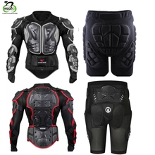 WOSAWE Breathable Motorcycle Jacket Racing Armor Protector Motocross Body Protection Elastic Cycling Protective Gear