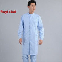Ms Medical Robe Lab Coat Hospital Doctor Slim Multicolour Nurse Uniform Gown Overalls