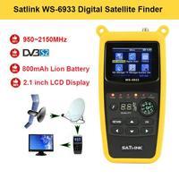 WS 6933 Digital Satfinder 2.1 Inch LCD Display DVB S2 Satellite Finder Meter FTA C&KU Band WS 6933 WS6933 Sat Meter|  -