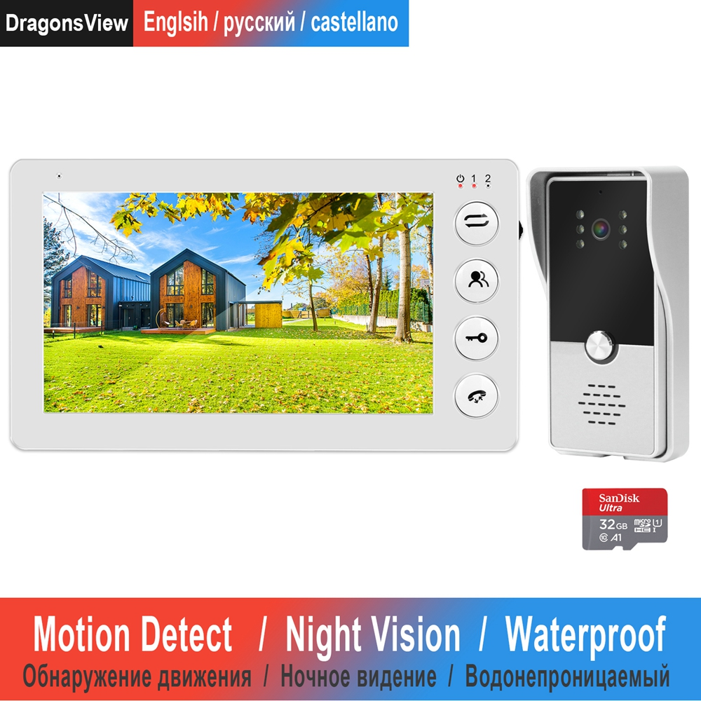 Video Intercom Doorbell Wired 7